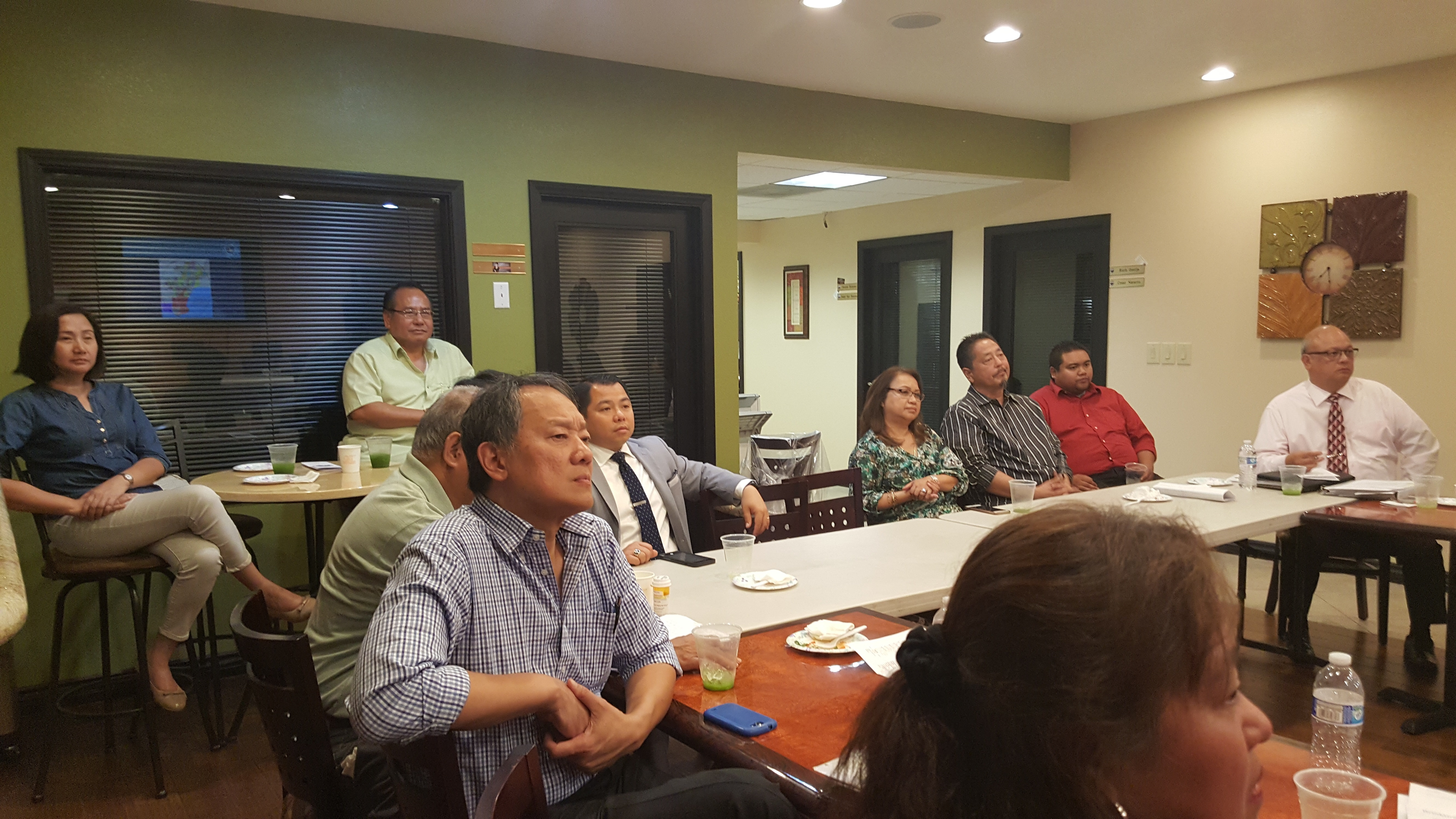 FACC GLA Promoting the Philippine Trade Mission to FACC Tri-County   August 29, 2016