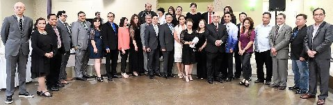 Maiden Induction of officers and board of directors of the Filipino American Chamber of Commerce Tri-County (Los Angeles, Riverside and San Bernardino).